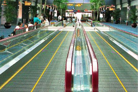 Transportador de pasajeros de vidrio de bajo consumo de energía y baja vibración y alto coeficiente de seguridad