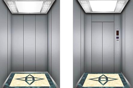 Estructura compacta, liviana y de operación silenciosa y elevadores sin habitación de máquinas de pequeño tamaño