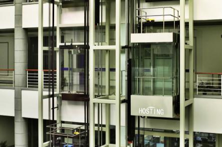Procesamiento de alta velocidad de información y control preciso de la habitación sin ascensor panorámico