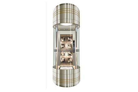 Elevador de observación de control de microordenador de alta estabilidad de la máquina adaptada